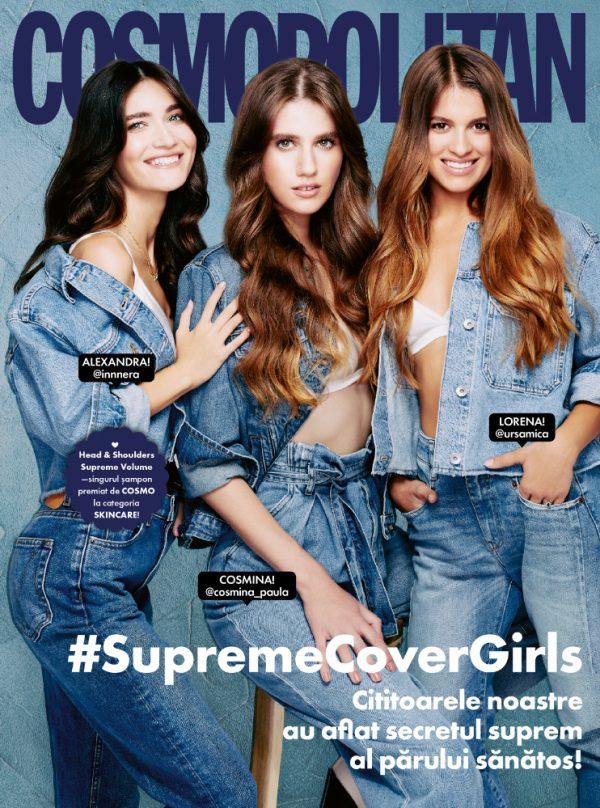 Cover Cosmopolitan Romania November 2020 Photo: Vlad Andrei Styling: Amir Dobos