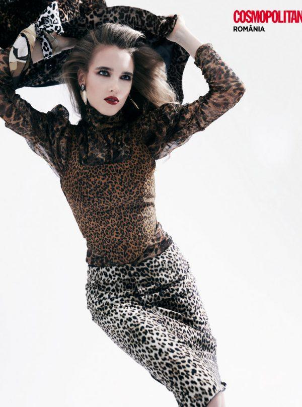 Fashion editorial Cosmopolitan Romania October 2020